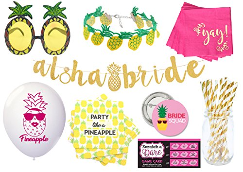 Pineapple Bachelorette Party Decorations Kit, by Blast in a Box (Pineapple - Meadow Stores Park Mall