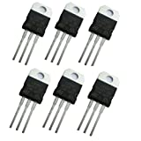 6 Pcs 3.3V 950mA LD1117V33 LD33V Voltage Regulator in Antistatic Bag