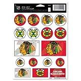Wincraft NHL Chicago Blackhawks Vinyl Sticker Sheet, 5'' x 7''
