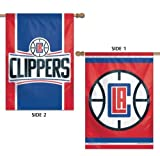 WinCraft Los Angeles Clippers Flag 28×40 LA 2 Sided Vertical House Banner TWO Designs Review