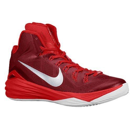 Nike Women's 2014 Hyperdunk Basketball Shoes, Tred/Wht, SZ 9