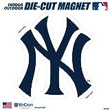 "Stockdale New York Yankees SD 12"" Logo MAGNET Die Cut Vinyl Auto Home Heavy Duty Baseball"