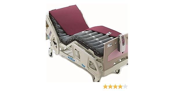 Colchón antiescaras con compresor Domus 2 de Apex | Dimensiones: 200 x 80 x 10,2 cm | Con regulador en función del peso del paciente (de 40 a 140 kilos): ...