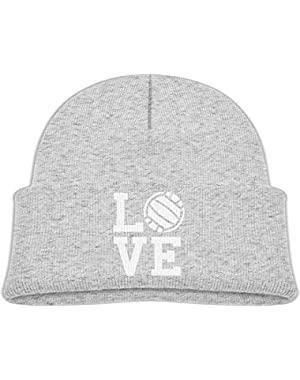 Warm Love Volleyball Printed Infant Baby Winter Hat Beanie