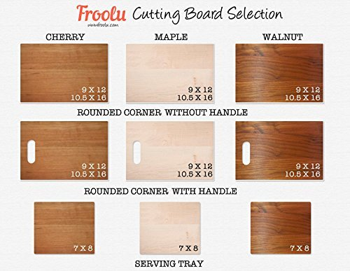 Personalized Cutting Board Wedding Gifts by Froolu Customized Engraved Newly Weds Couples Chopping Cheese Board Wood