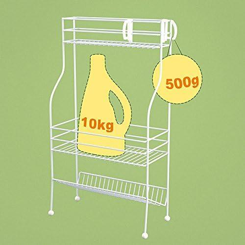 Edge to Blumenregale Iron Stand Indoor Blumentopf Rack Hose Regale Aroma Rack Badezimmer Regal für Shampoo Küche Diverses Gewürzhalter(High Länge 28cm * 51cm * 14cm Breite)