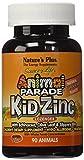 Nature's Plus - Kidzinc Lozenges-Tangerine, Gluten Free, Vegetarian, 90 Count