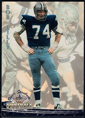(Football NFL 1994 Ted Williams Roger Staubach's NFL #3 Bob Lilly NM-MT Cowboys)