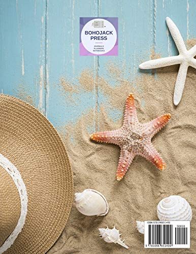 Beach Wedding Planner: Large Wedding Planning Notebook – Budget, Timeline, Checklists, Guest List, Table Seating & MORE…