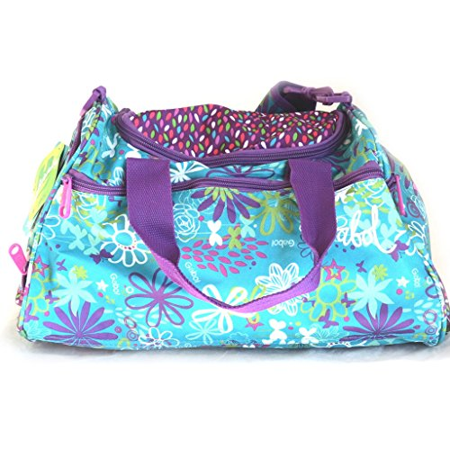 Amazon.com: Travel bag Gabol turquoise purple (38x25x20 cm ...