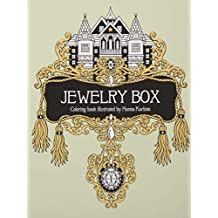 "Jewelry Box Coloring Book: Published in Sweden as ""smyckeskrinet"""