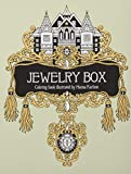 capa de Jewelry Box Coloring Book: Published in Sweden as