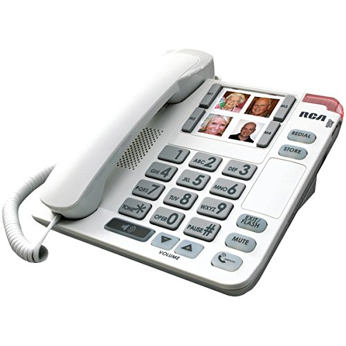Amplified Phone (RCA 1123-1WTGA Amplified Big Button Corded Phone)