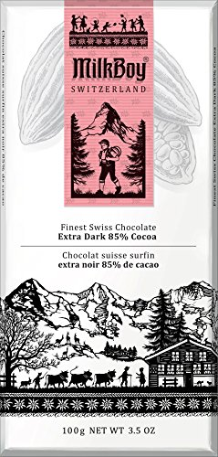 Milkboy Swiss Extra Dark 85% Cocoa (5 Pack)