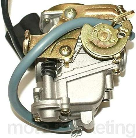 Unbranded TUNING RACING CARBURETTOR E-CHOKE compatible with PEUGEOT LUDIX PRO KISBEE TWEET 50 AC 4T