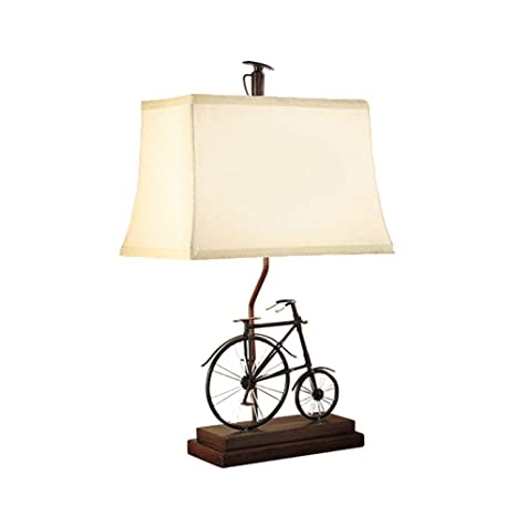 Desk Lamp-Modern Table Lamps Vintage Bicycle Bedside Table Light for ...