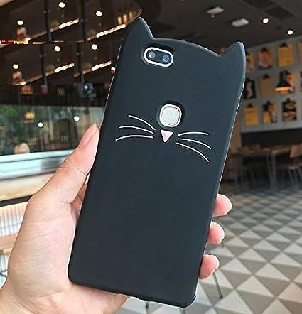 promo code 1df04 0005e Wprie XIAOMI MI A1 3D Cute Cat Meow Soft Silicone Back: Amazon.in ...