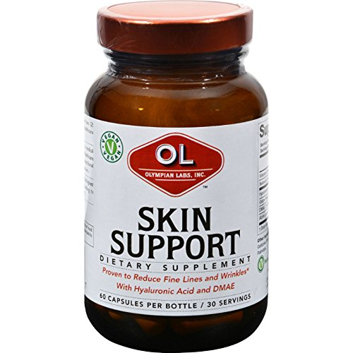 2Pack! Olympian Labs Skin Support - 60 Vegetarian Capsules by Hair, Skin, and Nails