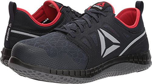 Reebok Work Men's Zprint Work Navy/Red/Grey 10.5 E US E - Wide