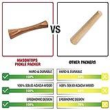 Masontops Pickle Packer - Acacia Wood Vegetable