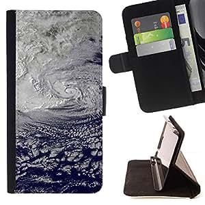 For Sony Xperia Z3 Compact / Z3 Mini (Not Z3) Case , Naturaleza Hermosa Forrest Verde 185- la tarjeta de Crédito Slots PU Funda de cuero Monedero caso cubierta de piel