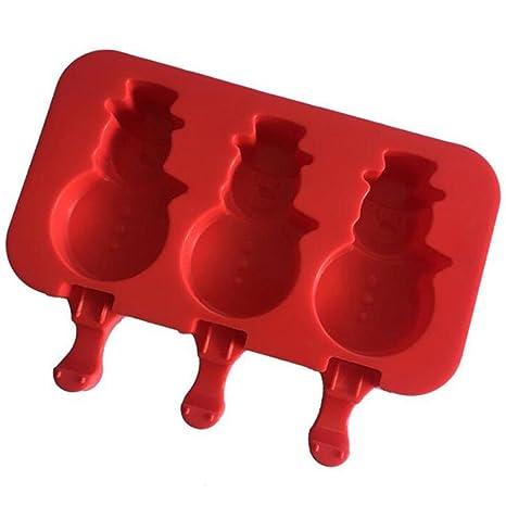 Moldes para paletas de hielo, silicona, moldes para helados congelados y reutilizables de YooGer
