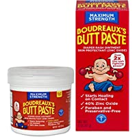 BOUDREAUX Butt Paste Diaper Rash Ointment Kit