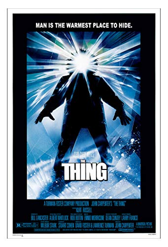 The Thing (Man is The Warmest Place to Hide Version - 1982) Movie Poster - Size 11