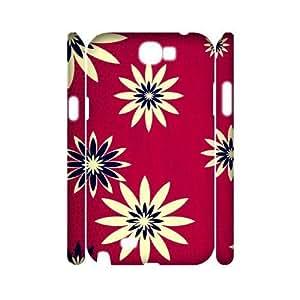 Custom New Case for Samsung Galaxy Note 2 N7100 3D, Daisies Phone Case - HL-R651572