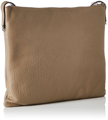 COCCINELLE Mila - Shoppers y bolsos de hombro Mujer Marrón (Taupe)