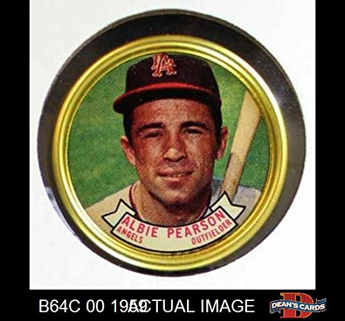 (1964 Topps Coins # 111 Albie Pearson Los Angeles Angels (Baseball Card) Dean's Cards 8 - NM/MT Angels)