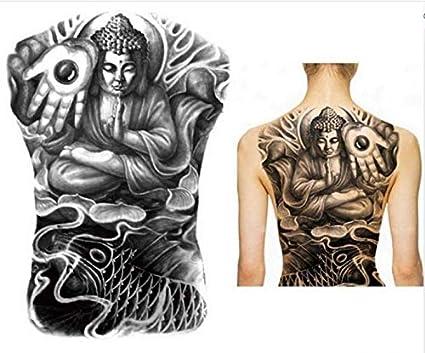 UPUPUPUP 48X35 Cm Grandes Pegatinas de Tatuaje 2019 Nuevos diseños ...