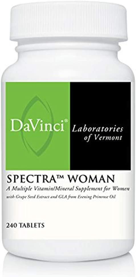Davinci Labs – Spectra Woman 240 tabs Health and Beauty