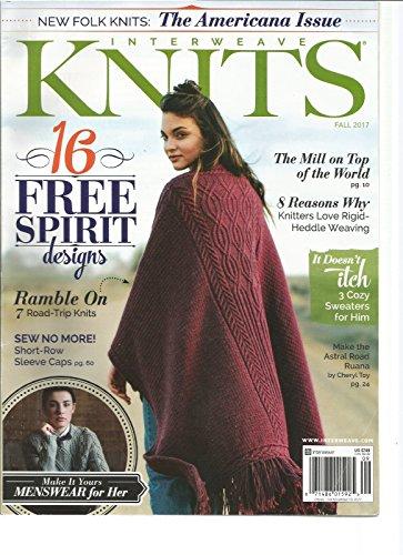INTERWEAVE KNITS MAGAZINE FALL 2017,16 FREE SPIRT -