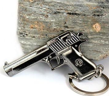 Desert Eagle Pistola llavero de Shooter Games enorme 6 cm ...