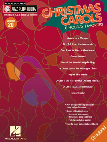 Christmas Carols: Jazz Play-Along Volume 20