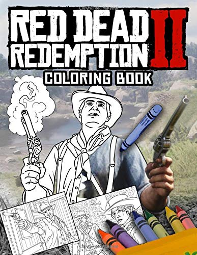 Red Dead Redemption Coloring Book: Red Dead Redemption 2 Coloring...