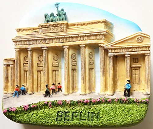 Brandenburger Tor BERLIN Resin 3D fridge Refrigerator Thai Magnet Hand Made Craft. by Thai MCnets by Thai MCnets