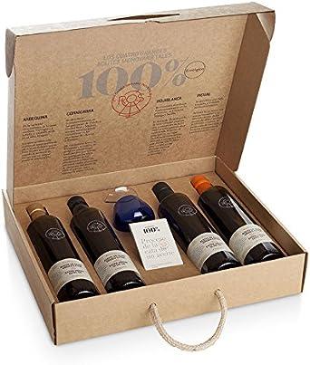 Aceite de Oliva Virgen Extra Ecológico - Box de Cata 4 Monovarietales
