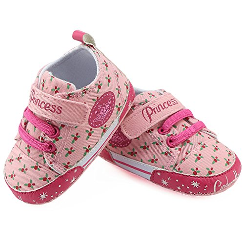 Z-T FUTURE Baby Canvas Shoes - Infant Boys Girls Crib Shoes Toddler Sneakers for 0-18 Months