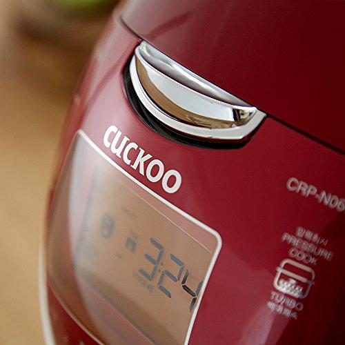 Cuckoo Electric Pressure Rice Cooker CRP-N0681F (Vivid Red) by Cuckoo (Image #6)