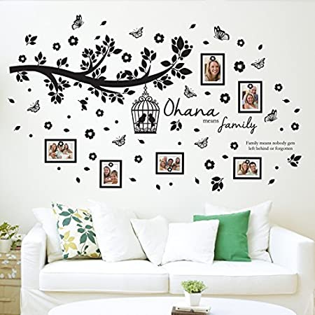 Walplus Wall Stickers Ohana Family Tree Wall Art Murals Removable