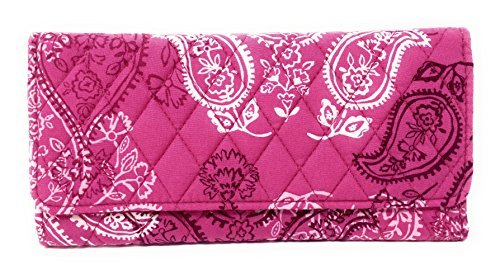 Vera Bradley Trifold Wallet (Stamped Paisley)