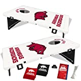Baggo 1609 University of Arkansas Razorbacks Complete Baggo Bean Bag Toss Game