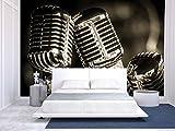 wall26 - Closeup of Chromed Retro Recording Studio Review and Comparison