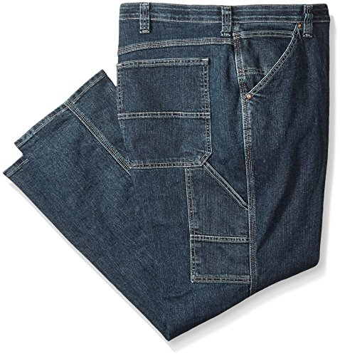 LEE Men's Big-Tall Custom Fit Carpenter Jean, Quartz Stone, 44W x 34L - Dungarees Carpenter Jean