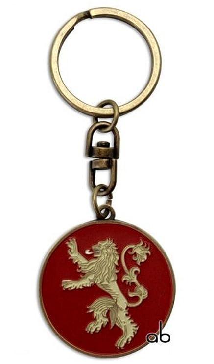 Game of Thrones - Llavero Mujer Hombre unisex rojo talla ...