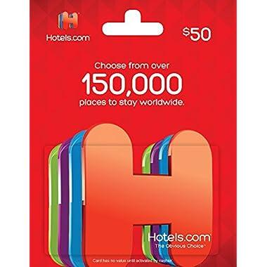 Hotels.com Gift Card $50