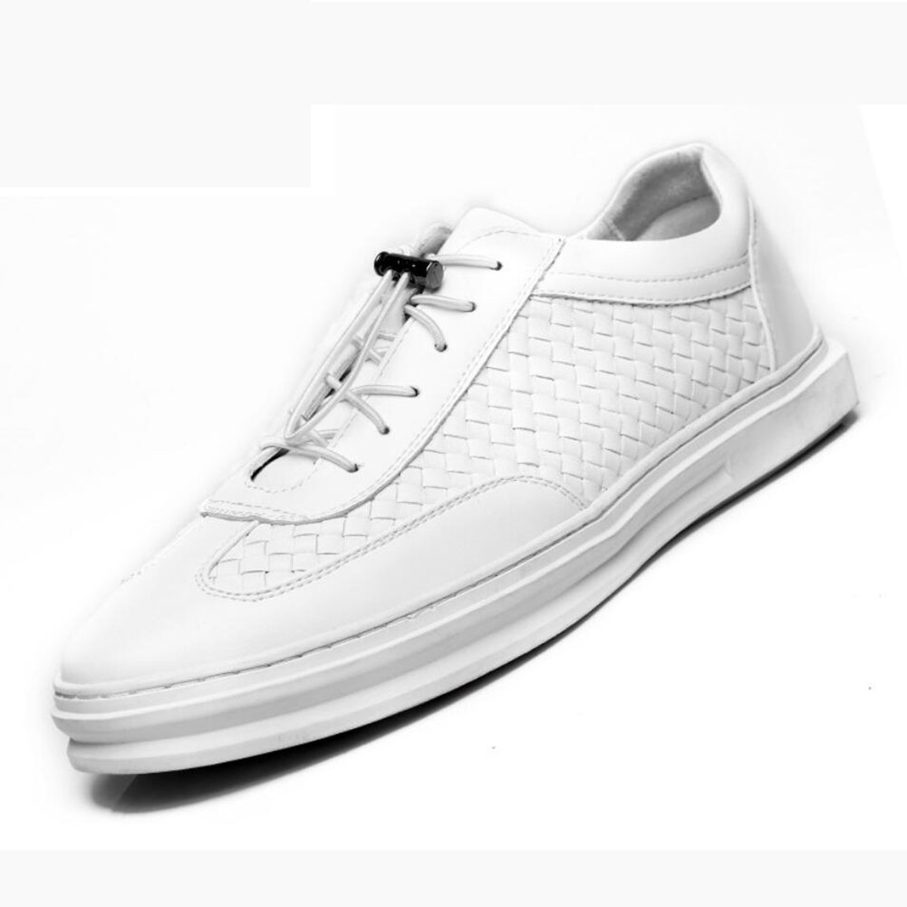 CAI Herrenschuhe Herrenschuhe Herrenschuhe Kunstleder Freizeitschuhe 2018 Frühling Herbst Komfort Formelle Schuhe Loafers & Slip-Ons Herren Schnürschuhe aus Leder Reiseschuhe (Farbe   Weiß, Größe   42) 35074f