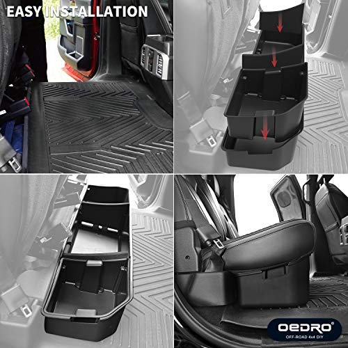 Astonishing Oedro Upgraded Under Seat Storage Box Compatible For 2015 Ocoug Best Dining Table And Chair Ideas Images Ocougorg
